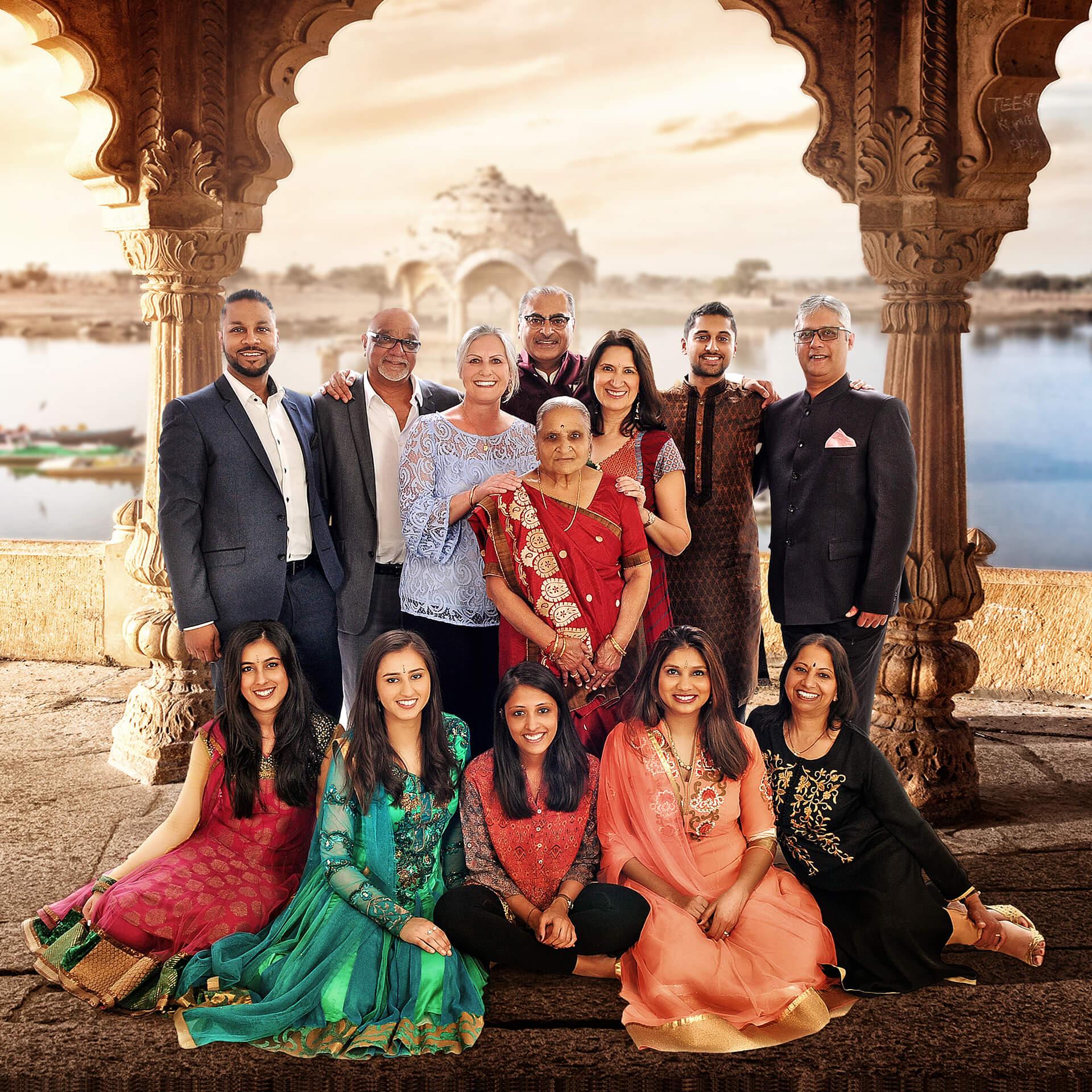 family amazing asian family photoshoot from kline stuidos