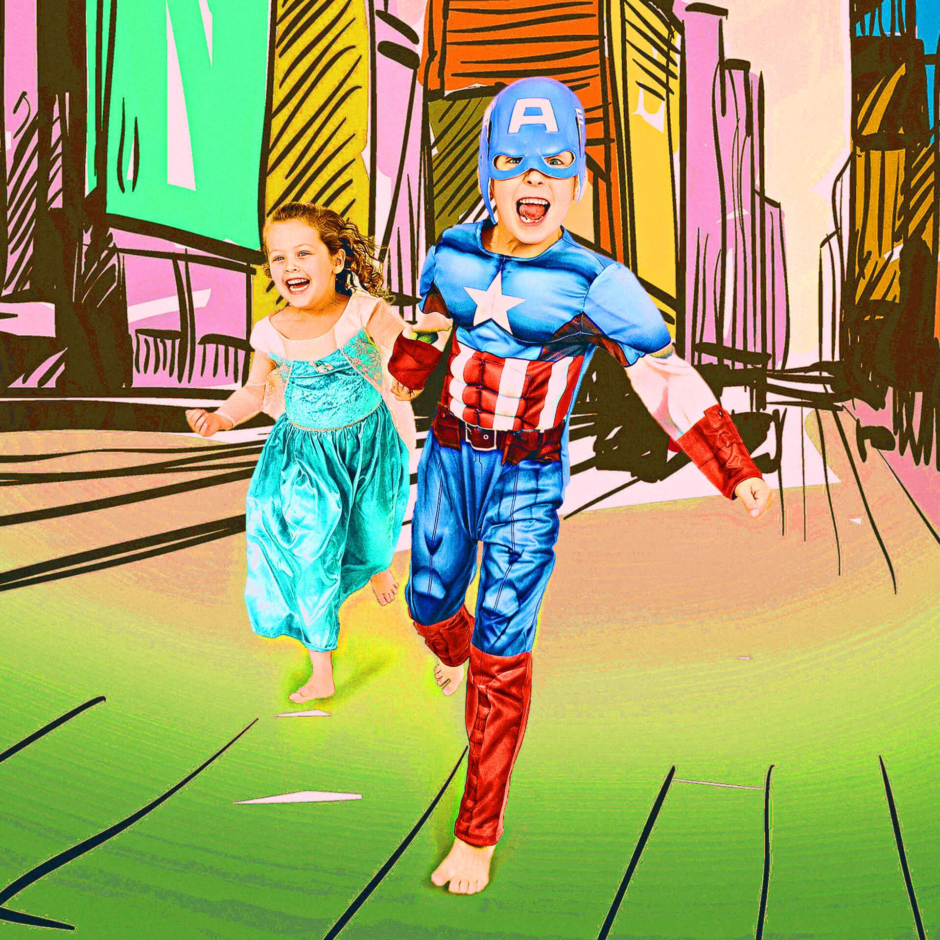 superhero photoshoots